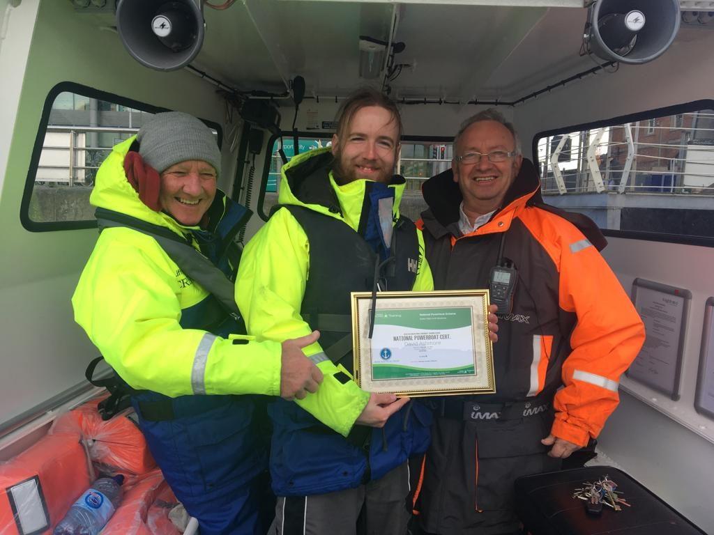 Irish Nautical Trust Trainees