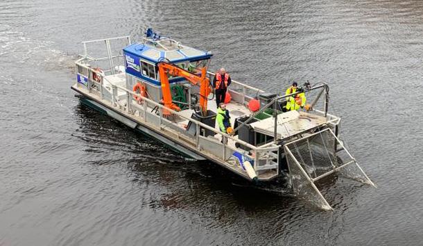 Liffey Sweeper - Irish Nautical Trust